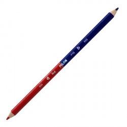 048381 Карандаш двухцветный синий-красный