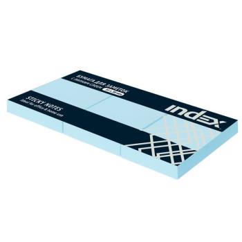 030108 Бумага д/заметок с липким слоем 51*38,св.голубая