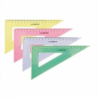 038453 Треугольник 30 гр 12 см пласт.