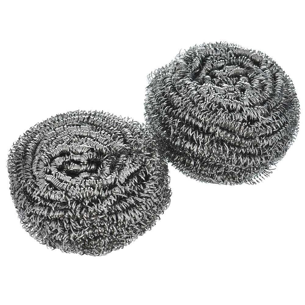 003360 Губка д/посуды металлическая спираль