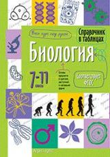 Справочник в таблицах. Биология. 7-11 класс. (ФГОС).