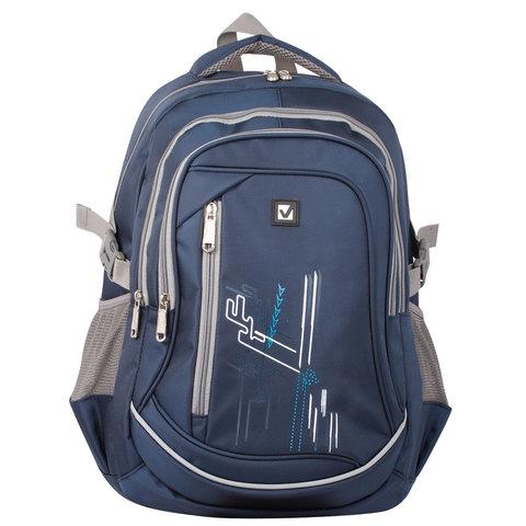 058882 Рюкзак BRAUBERG, для ст.классов/студентов/молодежи, мальчик, Старлайт
