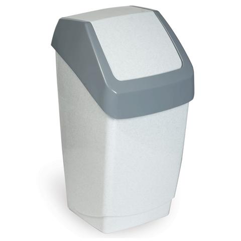 029281 Ведро-контейнер для мусора IDEA, 15 л.