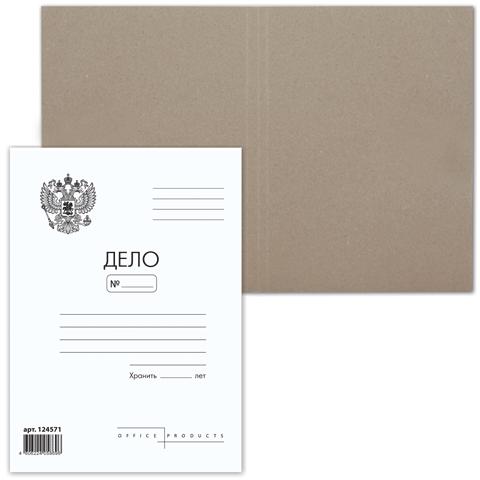 """025703 Папка-обложка  """"Дело""""  пл.300гр."""