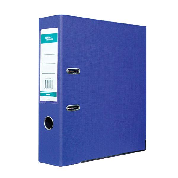 055935 Папка-регистратор STANGER 75 мм двухстор синий