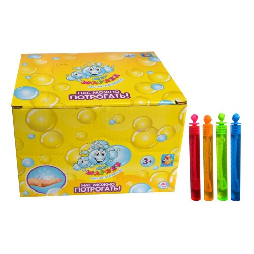 """086179 Мыльные пузыри """"Мы-шарики!"""" 5мл, нелопующиеся"""
