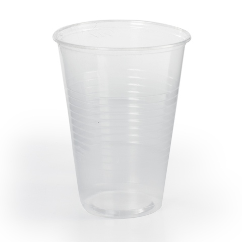 072406 Одноразовые стаканы ЛАЙМА Бюджет,100шт., пластиковые 0,2л, прозрачные