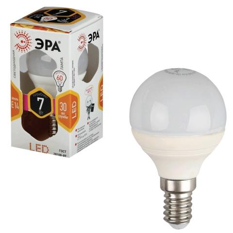 064158 Лампа светодиодная ЭРА,7(60)Вт, цоколь E14