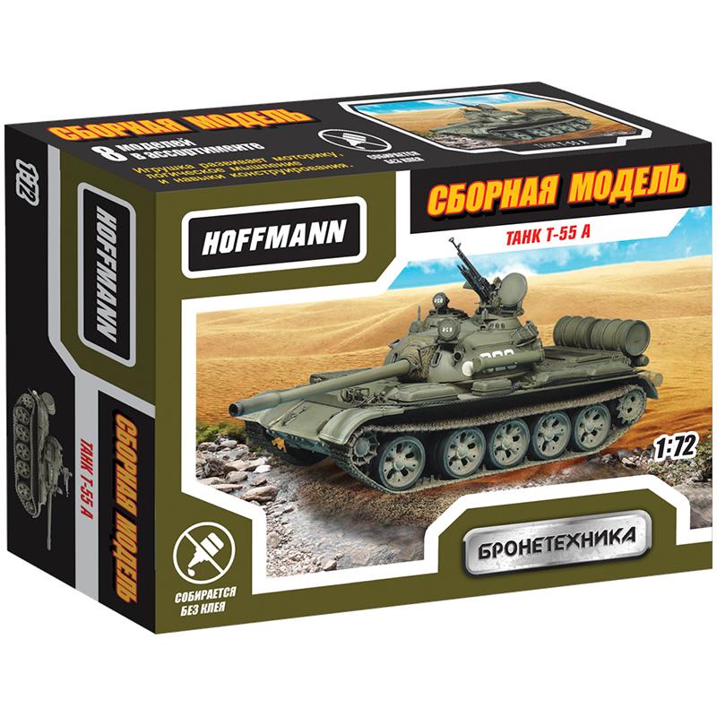 051650 Модель д/сборки Танк Т-55А