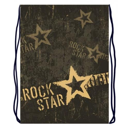 070017 Мешок для обуви 1 отделение 330*420 Rock star