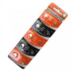 057179 Батарейка-таблетка  G-1 MINAMOTO