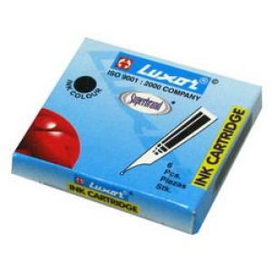031272 Капсула д/ручки,черная,Luxor (1шт)