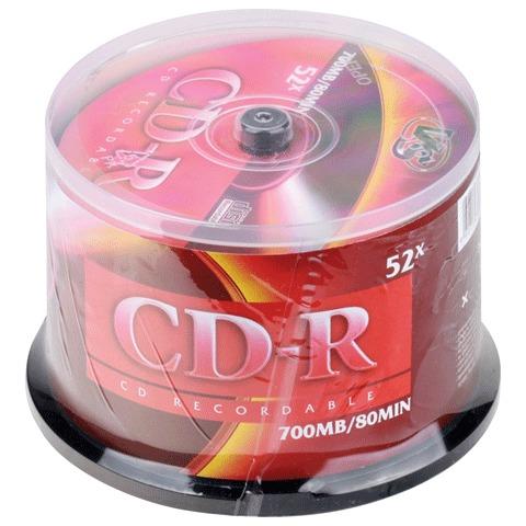 056992 Диски CD-R VS 700Mb 52