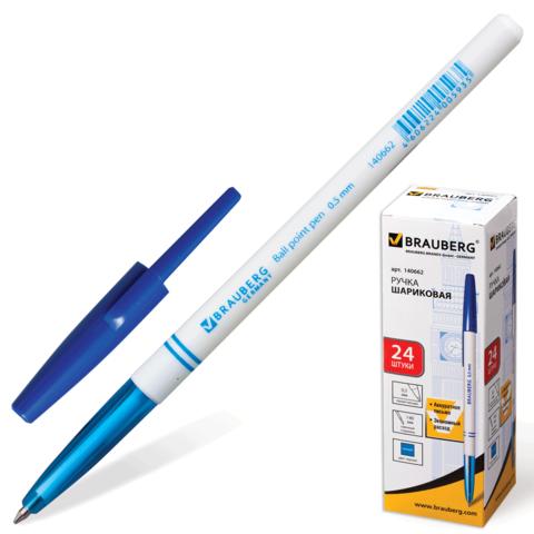 029470 Ручка шариковая BRAUBERG офисная , синяя
