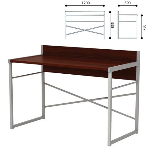 069099 Стол письменный на металлокаркасе