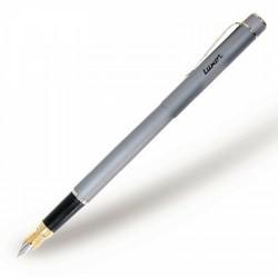 068911 Ручка перьевая SLEEK металлик