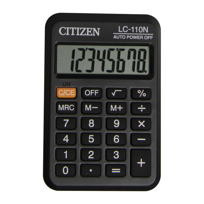 046964 Калькулятор карманный  LC-110N 8 разрядов