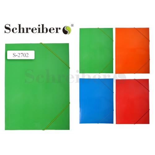 070946 Папка на резинке А4 5 дизайнов