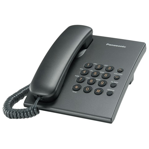 062922 Телефон PANASONIC KX-TS2350,титан