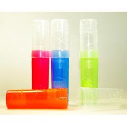 012690 Пенал-тубус пластиковый,цветной,ассорти