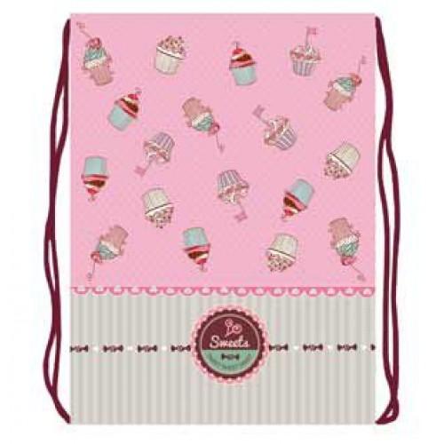 072692 Мешок для обуви 1 отделение Sweet cake