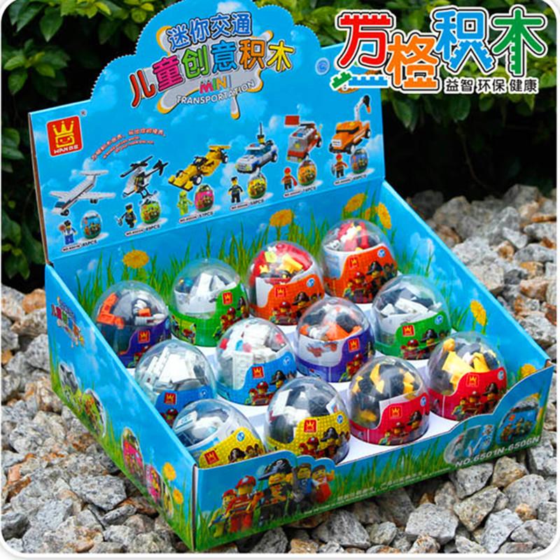 069315 Конструктор Лего в яйце