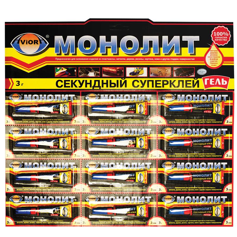 """071727 Клей Aviora """"Монолит-гель"""", 3г"""