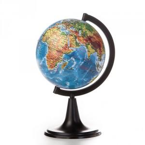 003096 Глобус Земли физический D 120 мм