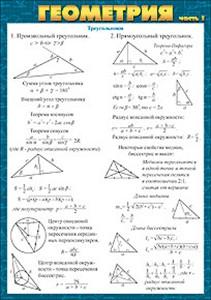 052154 Карточка А5 Геометрия ч.1