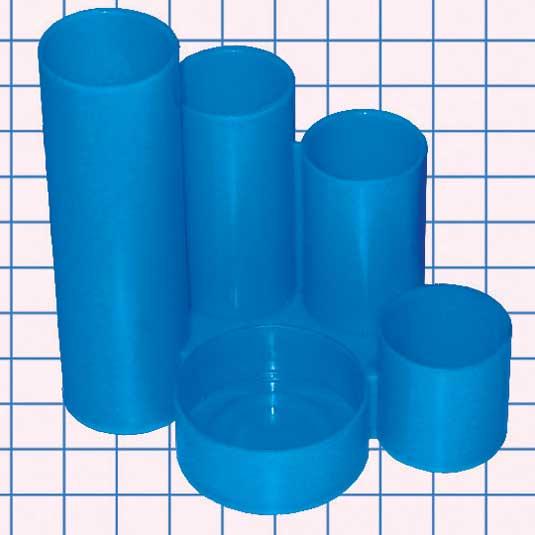 034443 Подставка наст. трубы,синяя