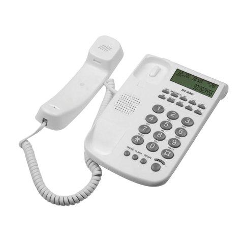 068929 Телефон RITMIX RT-440 white, АОН,белый