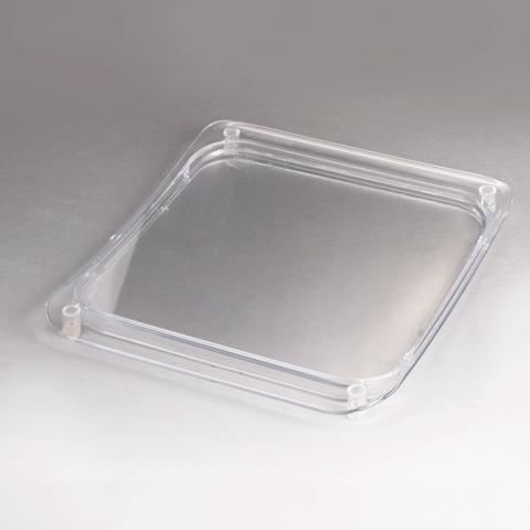 051106 Монетница прямоугольная, 170х200 мм, прозрачная, CX005