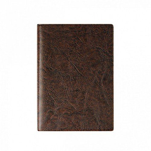 """080086 Бумажник для автодокументов + паспорта, кожзам """"Коричневый"""""""