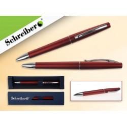065302 Ручка шариковая в футляре, цв.корпуса Красный