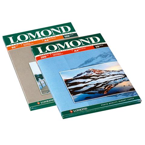 020718 Ф/бумага LOMOND д/струйной печати А4, 90г/м, 100л., односторонняя, матовая (0102001)