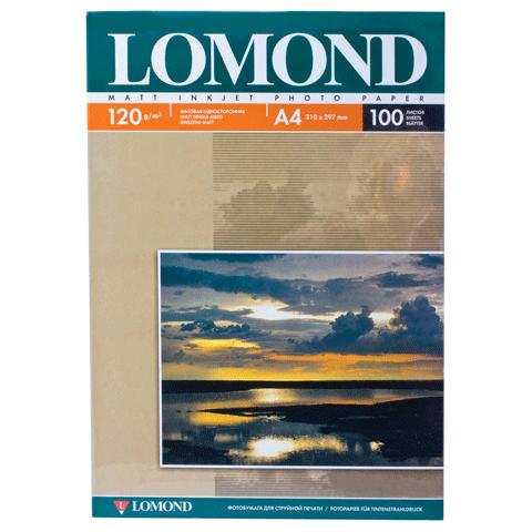 020713 Ф/бумага LOMOND 120г.100л. матовая (0102003)