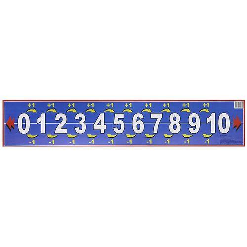 """057965 Плакат """"Числовой ряд от 0 до 10"""""""