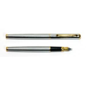 038950 Ручка перьевая Marvel,хромир.с золотом 8331
