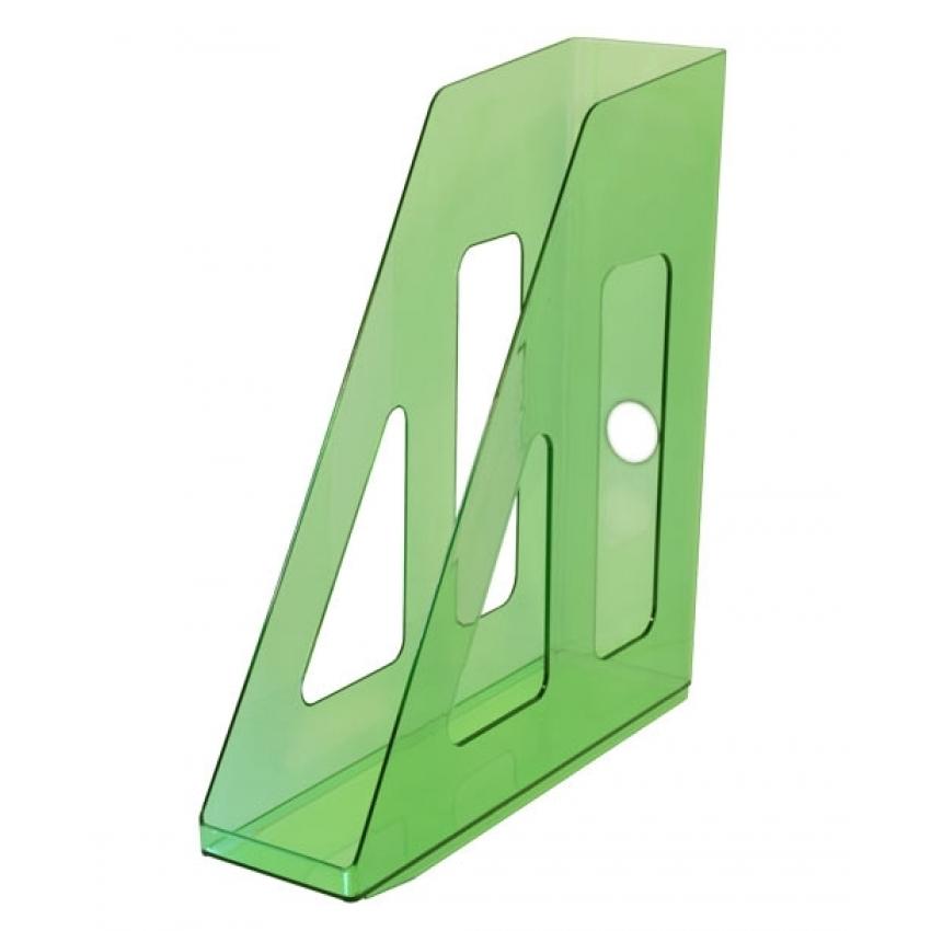 076821 Накопитель д\бумаг верт. АКТИВ зелёный GREEN