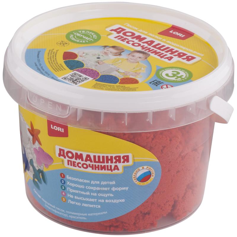 """043720 Набор д/лепки """"Красный песок"""" 0,7 кг"""