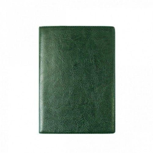 """080168 Бумажник для автодокументов + паспорта, кожзам """"Зеленый"""""""
