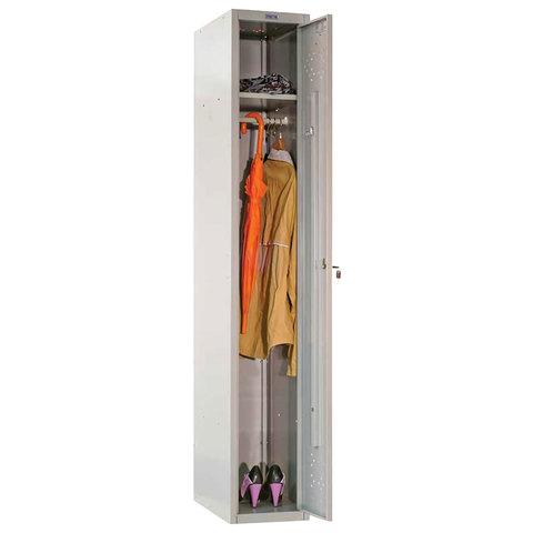 069100 Шкаф металлический для одежды ПРАКТИК