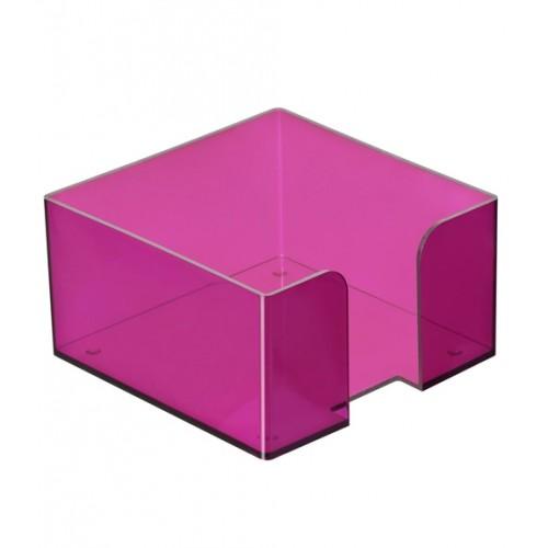 013536 Пластиковый бокс д/бумаги 9*9*5