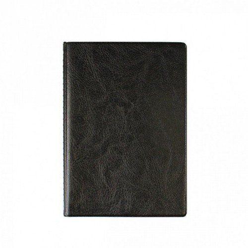 """080085 Бумажник для автодокументов + паспорта, кожзам """"Черный"""""""