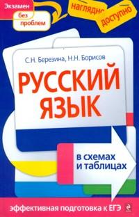 Березина. Русский язык в таблицах и схемах. Наглядно и доступно. Эффективная подготовка к ЕГЭ.