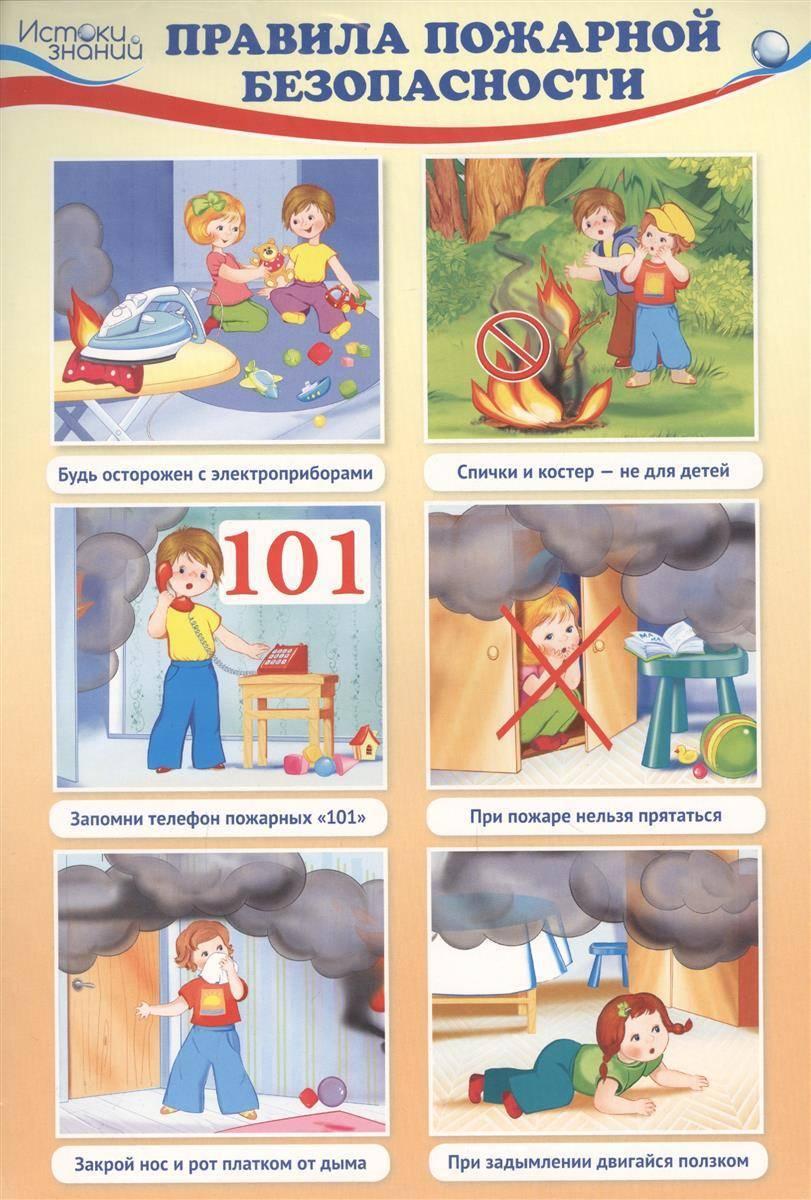Детям о безопасности в картинках