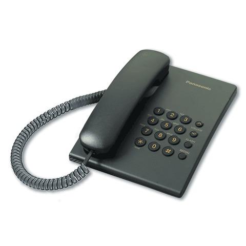 065569 Телефон PANASONIC KX-TS2350RUB, черный