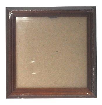 041878 Ф/рамка из сосны, цв. орех 13*13